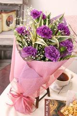 フラワーギフト ムーンダスト 誕生日プレゼント 女性 花束