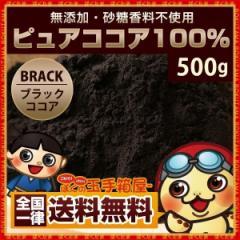 ココア ピュアココアパウダー 500g 無添加 砂糖不使用 [ 純ココアパウダー ココアパウダー ココア粉末 パウダー ] 送料無料