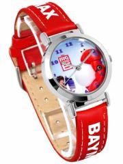 【SALE】Disney ディズニー ベイマックス キッズ 腕時計 子供用 Big Hero 6 3D ロボット アニメ 映画 レッド 赤