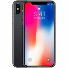 [新品即納]送料無料 iPhone X 64GB SIMフリー [スペースグレイ] MQAX2J/A