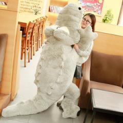 送料無料  ワニ 鰐 ぬいぐるみ 特大 2色 160cm 大きい可愛いわに抱き枕/プレゼント/ふわふわぬいぐるみ