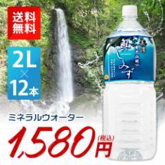 水 2L 送料無料 ミネラルウォーター 美濃 養老山地の奥しみず 2000ml×12本 PET ペットボトル 2ケース販売