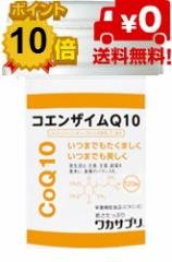 ワカサプリ CoQ10 120粒  約2カ月分【粗品付】【送料無料】