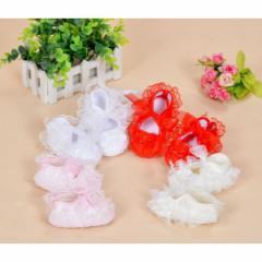 巻きバラ ベビーシューズ ファーストシューズ 結婚式 フォーマルシューズ 女の子 ベビー靴 子供靴 フォーマル sgi16100