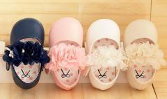 シフォン フラワー シューズ 女の子 子供靴 ベビー フォーマル 花 sgi14012-2