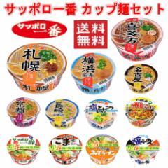 【 送料無料 】【6240円以上で景品ゲット】 サッポロ一番 カップどんぶり・旅麺セット ご当地シリーズ 12食セット