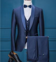 ビジネス★スリム メンズ フォーマルスーツ 3ピーススーツ 結婚式 花婿の介添え紳士用 OL通勤20代30代40代 大きいサイズ 宴会