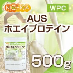 AUSホエイプロテイン 500g 【メール便選択で送料無料】 WPC製法タンパク含有率81% [03] NICHIGA ニチガ