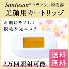 Santasan フラッシュ脱毛器ver2 専用取り換えカートリッジ 美顔用(顔用) 美容