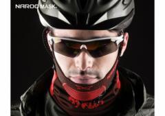 【PM2.5/排気ガス予防/花粉対策】Naroo Mask X5 スポーツ用フェイスマスク  ナルーマスク NAROO