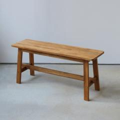 ダイニング ベンチ OAK 木製 W100×D29×H45(cm) MTS-090