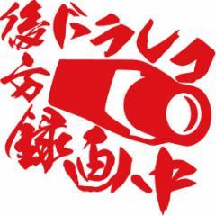 カッティングステッカー 〜 後方ドラレコ録画中 (ドライブレコーダー)  サイズL 〜 車 バイク 事故抑止 自己防衛 煽り対策 (C)