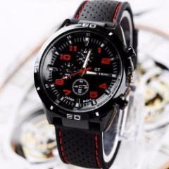 【メール便送料無料】スポーツカーイメージ★GTグランドツーリング★メンズ腕時計(4色)新品予備電池サービス ぽっきり