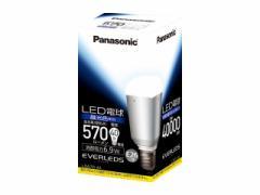【パナソニック】LED電球 6.9W(昼光色相当)/LDA7DA1