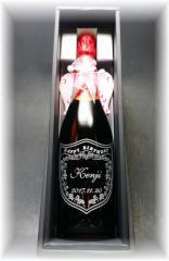 名入れワイン 幸せを呼ぶ【天使スパークリングワイン750ml/ロッソ赤・アスティ白】誕生日・結婚祝い・母の日・記念日ギフト