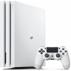 特典付☆若干の訳あり【即納可能】【新品】PlayStation4 Pro グレイシャー・ホワイト 1TB(CUH-7200BB02) 新型PS4本体