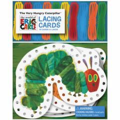 はらぺこあおむし レーシングカード 【Chronicle Books The Very Hungry Caterpillar Lacing Cards】