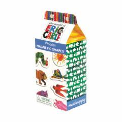 エリック・カール 木製マグネット 【Mudpuppy Eric Carle Shapes Wooden Magnetic Sets】