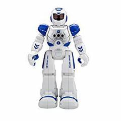 【送料無料】インテリジェン 人型ロボット プログラム可能/ジェスチャ制御/手振り制御/多機能ロボット カラー:ブルー