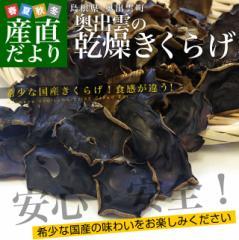 島根県より産地直送 奥出雲キノコ 乾燥キクラゲ 50g×3袋 木耳 国産キクラゲ 送料無料 産直だより