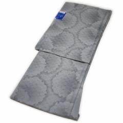 着物 洗える仕立て上がり小紋(単衣:大島柄:グレー/Sサイズ)日本製生地