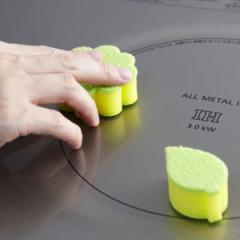 キッチンスポンジ ダイヤモンドスポンジ ( キッチン用 台所用 掃除 キッチン用品 清掃用品 スポンジ )