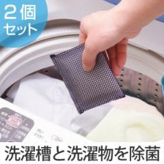 洗濯槽クリーナー ヨウ素DE洗濯槽キレイ 2個組 ( 洗濯槽 抗菌 除菌 消臭 防臭 防カビ 部屋干し 室内干し 臭い 皮脂吸着 洗濯用品 洗濯