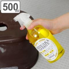 洗剤 水垢 除菌 スプレー 500ml うろこ 落とし お風呂掃除 キッチン 掃除 クリーナー 乳酸 リンゴ酸 ( 水あか うろこ取り ウロコ 洗面所