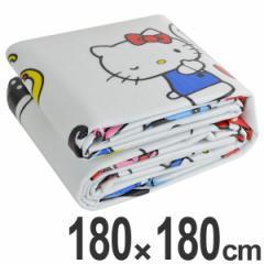 レジャーシート クッションマット ハローキティ ふんわりレジャーシート 2畳サイズ 4〜5人用 バッグ付 ( レジャーマット 敷物 厚