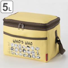 保冷バッグ スヌーピー 5L ( クーラーバッグ ソフトクーラーバッグ 保冷 ボックスタイプ 5リットル エコバッグ ショッピングバッグ お買