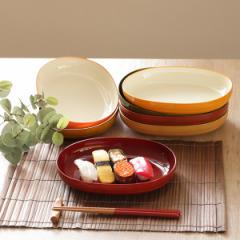 プレート 23cm WAYOWプレート 皿 食器 和洋兼用 プラスチック 日本製 ( 食洗機対応 電子レンジ対応 深皿 ボウル 中皿 オーバル 和モダン