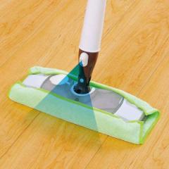 フロアワイパー 本体 スプレー付き 水拭き フローリング スプレーフロアワイパー ( ワイパー モップ 水だけ 床 掃除 そうじ 清掃 マイク