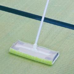 ワイパー 取付モップ フローリングワイパー 畳用 スペア ( モップ 床掃除 掃除 髪の毛 ホコリ ペット 毛 ごみ ゴミ たたみ タタミ 洗濯