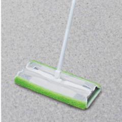 ワイパー 取付モップ フローリングワイパー クッション 水拭き スペア ( モップ 床掃除 掃除 フローリング クッションフロア 髪の毛 ホ