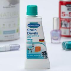 洗濯用洗剤 Dr.Beckmann ステインデビルス 機械油 ペンキ用 50ml ( 洗濯 洗剤 染み抜き 部分洗い 予洗い シミ抜き シミ抜き剤 液体 洗