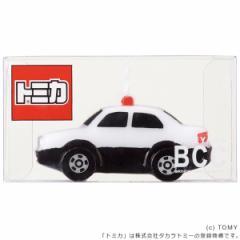 キャンドル ろうそく 誕生日 バースデーキャンドル トミカキャンドル パトロールカー ( ローソク ロウソク ケーキ用 ケーキキャンドル