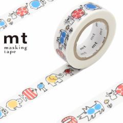 マスキングテープ mt リサラーソン ベイビーマイキー 幅15mm ( カモ井加工紙 マステ 和紙テープ エムティー ラッピング デコレーシ