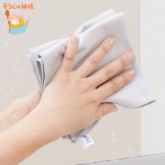 ミラークロス そうじの神様 拭き筋を残さない 鏡・洗面台用クロス 2枚入り ( お掃除クロス 洗面所 鏡 掃除 鏡用クロス 汚れ 落とす 毛羽