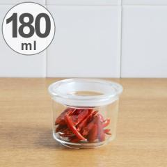 キントー KINTO 保存容器 Cast ガラスリッドキャニスター 浅型 M 180ml ( 耐熱ガラス 食品保存 密閉 キッチン用品 キッチン収納