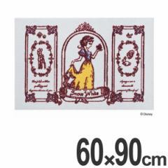 玄関マット 屋内・屋外兼用 白雪姫 60×90cm ( 送料無料 玄関 マット 洗える ディズニー Disney ディズニープリンセス プリンセス 姫
