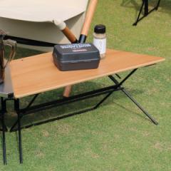 アウトドア テーブル ウッドトップ 1台 アーチテーブル シングル ヘキサテーブル ( ハングアウト HangOut アウトドアテーブル レジャー