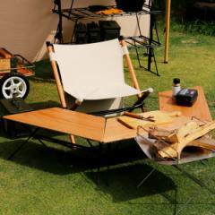 アウトドア テーブル ウッドトップ 3台 アーチテーブル ヘキサテーブル ( ハングアウト HangOut アウトドアテーブル レジャーテーブル