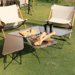 アウトドア テーブル ステンレストップ 3台 アーチテーブル ヘキサテーブル ( ハングアウト HangOut アウトドアテーブル レジャーテーブ