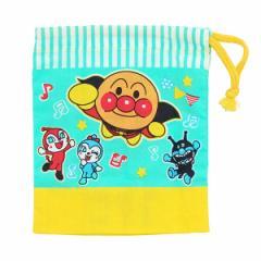 コップ袋 アンパンマン 子供用 キャラクター ( 給食 子供用コップ 袋 お弁当グッズ あんぱんまん )