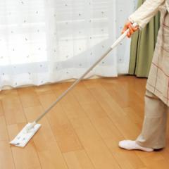 フローリングワイパー 激落ちワイパー ジョイント式 コンパクト 立体クッション ( 激落ちくん フローリング ワイパー モップ 拭き掃除