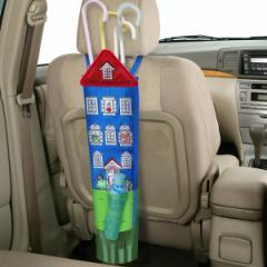 傘 収納 ポケット付きアンブレラケース ムーミン ハウス 車用品 カー用品 ( 傘ケース 車 傘カバー 雨傘 ケース カバー 車内 吊り下げ ヘ