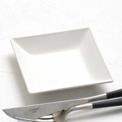 プレート 角皿 10cm クリーンコート プラスチック 皿 食器 山中塗り 日本製 ( 食洗機対応 電子レンジ対応 小皿 角 白 薬味皿 醤油 漬物