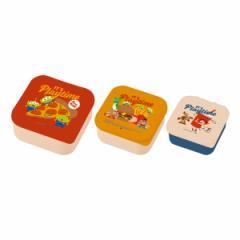 お弁当箱 シール容器 トイ・ストーリー 3個セット ランチボックス ( トイストーリー レンジ対応 食洗機対応 キャラクター 弁当箱 レンジ