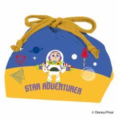 ランチバッグ 巾着袋 弁当袋 トイ・ストーリー SPACE MOON 子供 ( トイストーリー バズ ランチ巾着 お弁当入れ 幼稚園 保育園 キッズ お