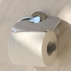 蓋つきペーパーホルダー BISK VENTURA トイレットペーパーホルダー ビスク トイレ用品 蓋つき トイレ ( トイレットペーパー ホルダー 紙